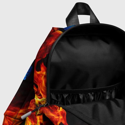 Детский рюкзак 3D с принтом BRAWL STARS LEON TRIO   БРАВЛ СТАРС ЛЕОН ТРИО, фото #4