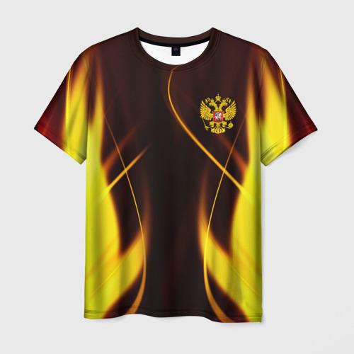 Мужская 3D футболка Russian style   Русский стиль