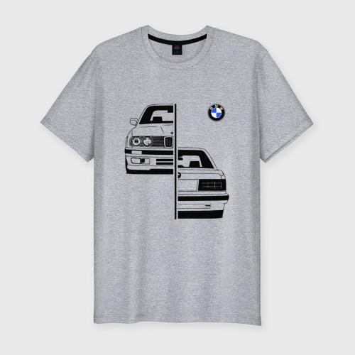 Мужская футболка премиум BMW | БМВ (Z)