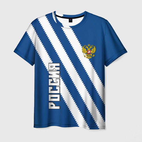Мужская 3D футболка RUSSIA SPORT