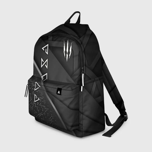 Рюкзак 3D с принтом The Witcher, вид спереди #2