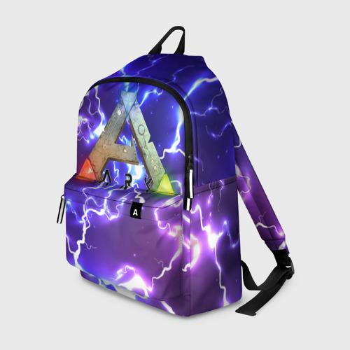 Рюкзак 3D с принтом Ark Survival Evolved (Z), вид спереди #2