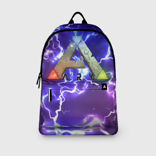 Рюкзак 3D с принтом Ark Survival Evolved (Z), вид сбоку #3