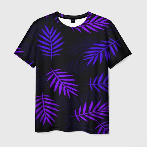 Мужская 3D футболка НЕОНОВЫЕ ТРОПИКИ