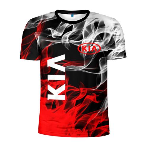 Мужская футболка 3D спортивная KIA