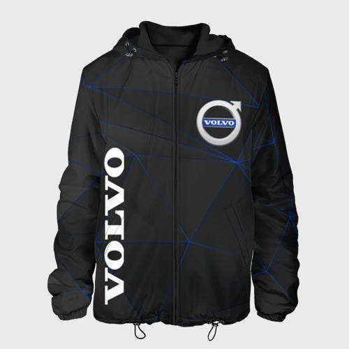 Мужская куртка 3D с принтом VOLVO, вид спереди #2