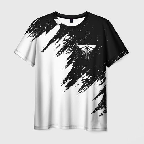 Мужская 3D футболка с принтом The Last of Us: Part 2, вид спереди #2
