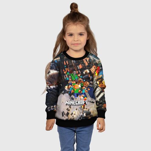 Детский 3D свитшот с принтом MINECRAFT, фото #4