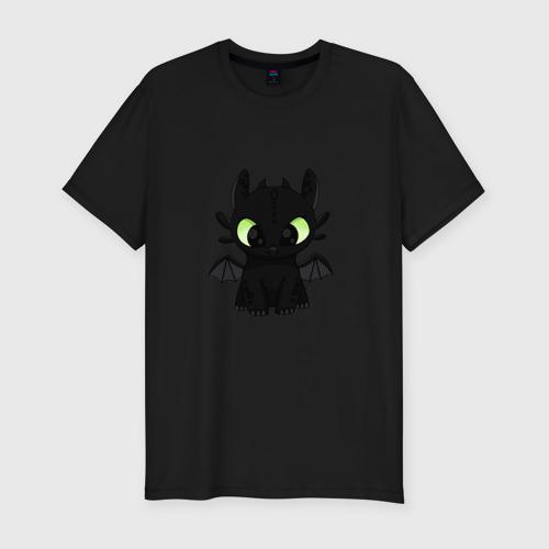Мужская футболка премиум с принтом Беззубик, вид спереди #2