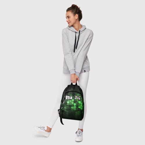 Рюкзак 3D с принтом GTA 5 / ГТА 5, фото #6