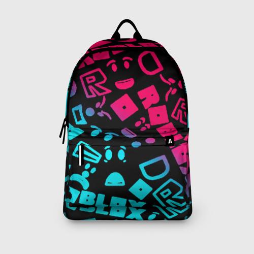 Рюкзак 3D с принтом Roblox, вид сбоку #3