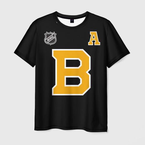 Мужская 3D футболка Boston Bruins Patrice Bergeron