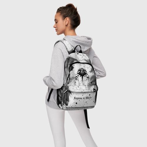 Рюкзак 3D с принтом КОРОЛЬ И ШУТ, фото #4