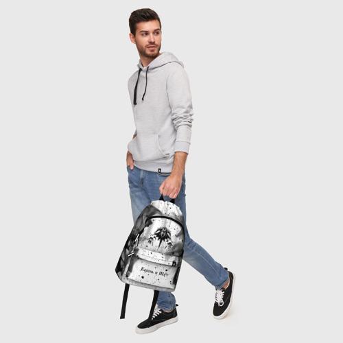 Рюкзак 3D с принтом КОРОЛЬ И ШУТ, фото #5