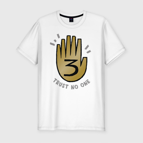 Мужская футболка премиум Trust no one
