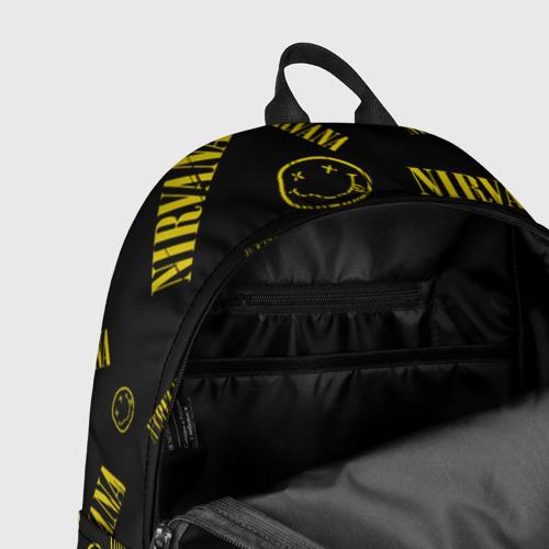 Рюкзак 3D с принтом Nirvana, фото #7