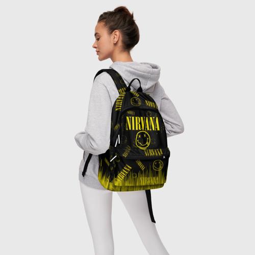 Рюкзак 3D с принтом Nirvana, фото #4