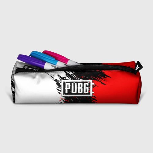 Пенал 3D с принтом PUBG, фото на моделе #1