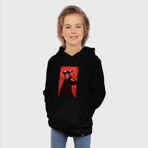 Детская хлопковая толстовка с принтом Itachi герой, фото #4