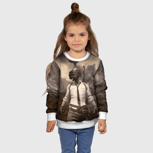 Детский 3D свитшот с принтом PUBG, фото #4