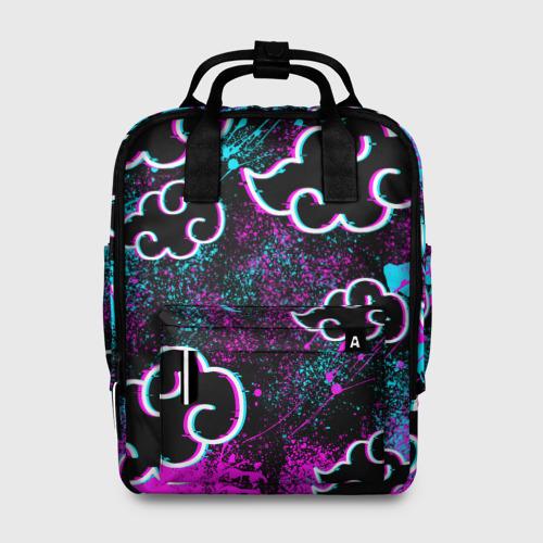 Женский рюкзак 3D NEON AKATSUKI