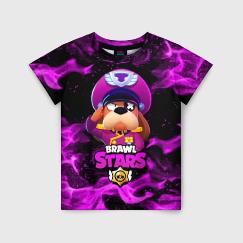 Детская 3D футболка ГЕНЕРАЛ ГАВС - Brawl Stars