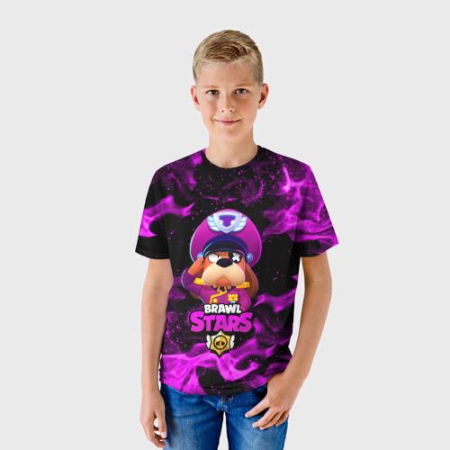 Детская 3D футболка с принтом ГЕНЕРАЛ ГАВС - Brawl Stars, фото на моделе #1