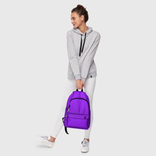 Рюкзак 3D с принтом Фиолетовый, фото #6