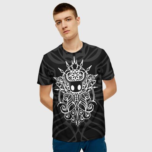 Мужская 3D футболка с принтом HOLLOW KNIGHT | ХОЛЛОУ НАЙТ, фото на моделе #1
