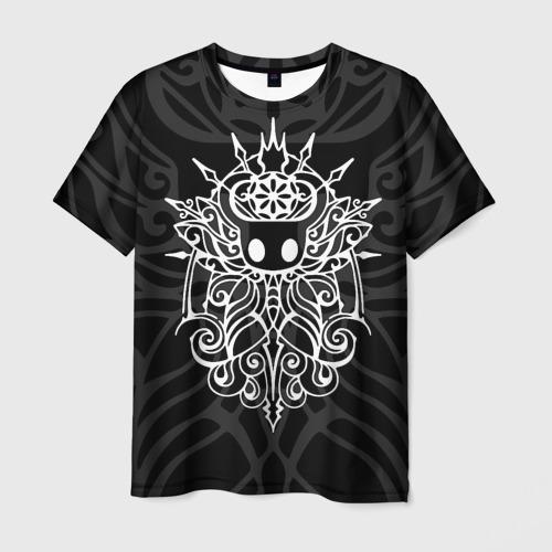 Мужская 3D футболка с принтом HOLLOW KNIGHT | ХОЛЛОУ НАЙТ, вид спереди #2