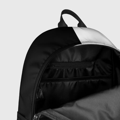 Рюкзак 3D с принтом Токийский гуль черно белый Кен, фото #7