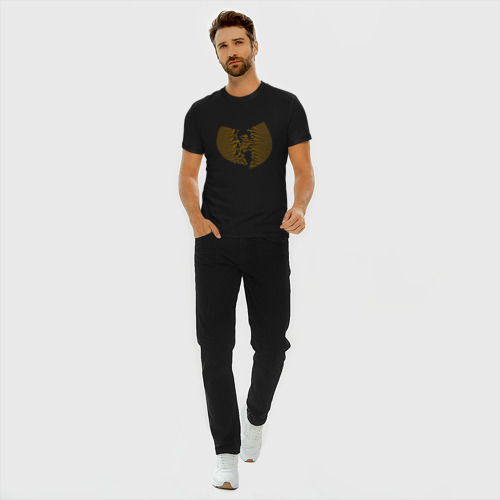 Мужская футболка премиум с принтом Wu-Tang, вид сбоку #3