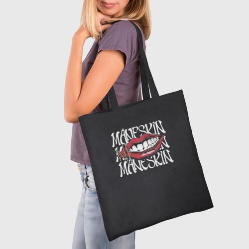 Сумка 3D повседневная с принтом Maneskin Maneskin, фото на моделе #1