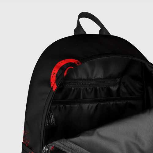 Рюкзак 3D с принтом ТАТУИРОВКА ДРАКЕНА, фото #7