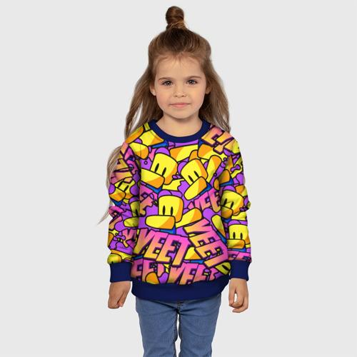 Детский 3D свитшот с принтом ROBLOX / РОБЛОКС / YEET, фото #4