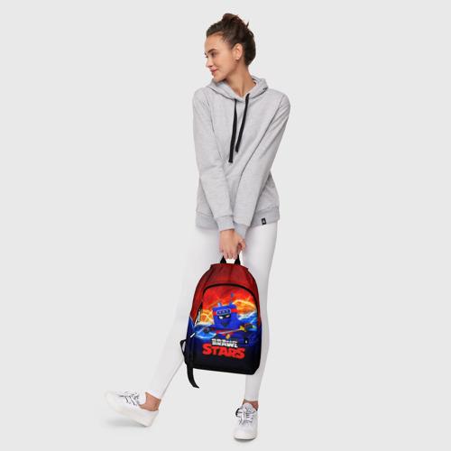 Рюкзак 3D с принтом ЭШ НИНДЗЯ Ash Brawl Stars, фото #6