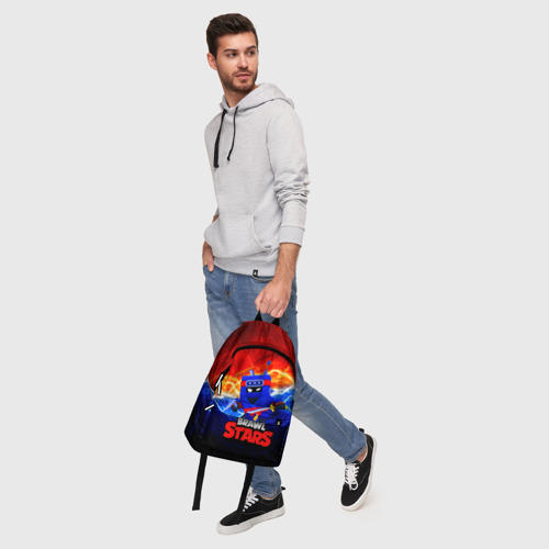Рюкзак 3D с принтом ЭШ НИНДЗЯ Ash Brawl Stars, фото #5